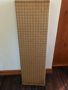 "VINTAGE PATTERN CUTTING SURFACE CRAFT BOARD 38"" X 72"""