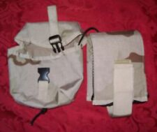 Army Military Surplus Desert Camo Molle Ifak Utility Pouch Kit with Supplies