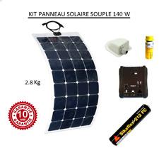 Kit panneau solaire souple 140w pour camping car monocristallin