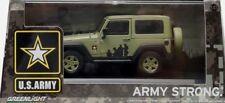 Greenlight Modellauto Jeep U.S. Army Strong 1:43 - NEU OVP
