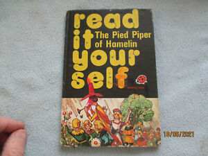Vintage 1978 Lady Bird Book Read It Yourself The Pied Piper