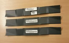 "Genuine Westwood Tracteur V2050HE V2550HE 50"" mulching Blades (3) 3 X 16938100 C"