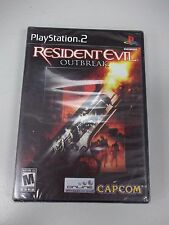 PS2 Resident Evil Outbreak New FACTORY SEALED black label from box set no UPC
