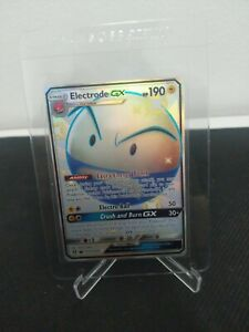 Pokemon card - Electrode GX Shiny Hidden Fates sv57/sv94