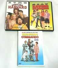 3 Dvd Lot Comedy - Saving Silverman, Stealing Harvard, Suburban Commando