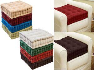Booster Cushion Seat Pad SOFT GARDEN Armchair Floor Chair Riser Cushion ADULTS