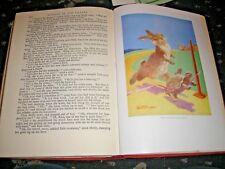THE CHILDREN'S WONDER BOOK-STORIES & POEMS COLOUR PLATES RUDYARD KIPLING ETC