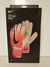 New Nike Gk Spyne Pro Elite Soccer Goalkeeper Gloves White/Hyper Size 7