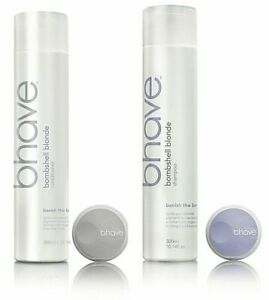 BHAVE BOMBSHELL Blonde Shampoo/Conditioner DUO PACK 300ml x2 Genuine Aust BEHAVE