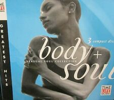 Body & Soul Sensual 3 CD Time Life,36 Greatest Hits,Marvin Gaye,Smokey Robinson