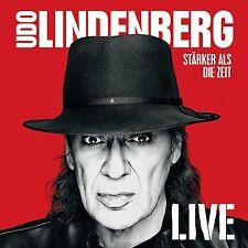 UDO LINDENBERG - STÄRKER ALS DIE ZEIT - LIVE  3 CD NEUF
