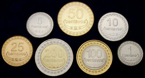 Timor-Leste 200 to 1 Centavo 2003 - 2017 UNC Set - 7 pcs (GLCS-003)