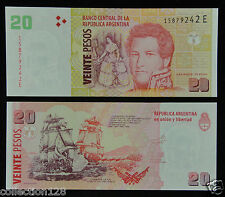ARGENTINA 20 PESOS BANKNOTE 2013 Uncirculated