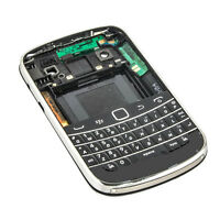 Full Housing Back Battery Case Cover+ Keypad For Blackberry Bold 9900 9930 Black