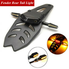 LED Fender Turn Signal Light Brake Tail Rear Lights Kit for Motorcycle Off-road