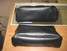 1970 71 72 MONTE CARLO BLACK BENCH SEAT HEADREST COVERS PUI NEW