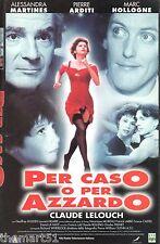 Per caso o per azzardo (1997) VHS CVC   Claude Lelouch -