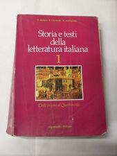 AAVV - STORIA E TESTI DELLA LETTURA ITALIANA 1 - SIGNORELLI