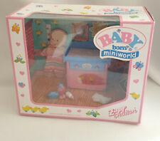 *Rare Zapf Creation Mini Baby Born Bedroom Accessories Set BNIB**