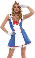 Forplay Sailor Overboard Womens Fancy Dress Costume 550016
