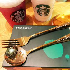 Starbucks Coffee Mug Spoon&Fork Bar Sakura Cups Spoons Tableware Limited Edition
