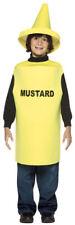 Mustard Bottle Kids Halloween Costume size 7-10