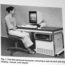 1982 Xerox PARC Alto DEC PDP-8 HP 9100A IBM 1401 Mark 1 UNIVAC Intel 8008 Cray-1