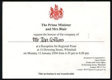 TONY BLAIR PRIME MINISTER RECEPTION DOWNING STREET 2004
