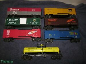 K-Line Freight Cars Rolling Stock Assortment Lot Plus Nice