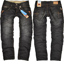 Timezone Herren Jeans Harold TZ 3823 schwarz Jeanshose Hose Angebot reduziert
