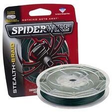 1 SPIDERWIRE STEALTH BRAID FILLER SPOOL 30 # TEST 300 YD MOSS GREEN