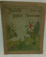CALENDARIO SOCIETA' IPPICA TORINESE 1940  - NUMERATO (287/1000)