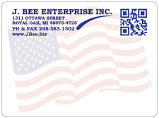 "Custom Shipping Labels, 2000 Printed 4"" x 3"" Mailing Stickers, 2 colors, pinfeed"