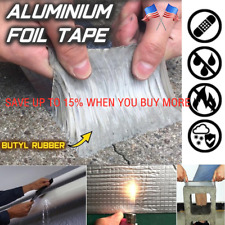 Aluminum Foil Magic Repair Adhesive Tape Super Strong Waterproof  Butyl-Seal USA