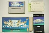 Super Famicom Heracles no Eikou IV boxed Japan SFC game US seller