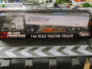 DCP/FG; Peterbilt 379 High .. 'TRANS PRO Logistics' w/Van Trailer; 1/64; Great!