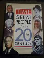 TIME - Great People of the 20th Century Hardcover First Edition 1996 Brand New