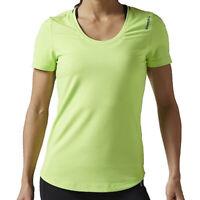 RRP £24.99 Womens Reebok Yoga Pop Art Gym T-Shirt White TGA17