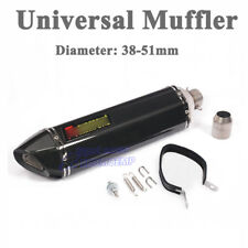 570mm Motorcycle Slip-On Stainless Steel Exhaust Muffler Pipe with DB Killer