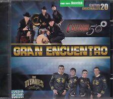Calibre 50 y Los Titanes de Durango  20 Exitos CD Gran Encuentro New Nuevo seale
