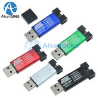 2PCS Mini USBISP USBASP Programmer Aluminum for 51 ATMEL AVR WIN7 64