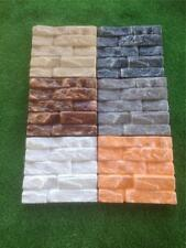 Stacker Stone Molds Brick Wall Cladding Slate Fire Place Concrete Cement Mould