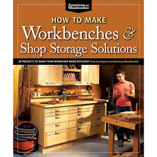 How to Make Workbenches and Shop Storage Solutions, Book