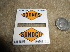 256-43 SUNOCO METAL DOUBLE SIGN FOR LIONEL TRAINS PW 156 PASSENGER PLATFORM
