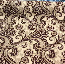 50 yard roll Moderna Wine Fabric Beautiful Chenille upholstery sofa couch chair