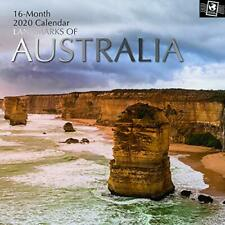 The Gifted Stationery 2020 Wall Calendar - Landmarks of Australia (GSC19607)