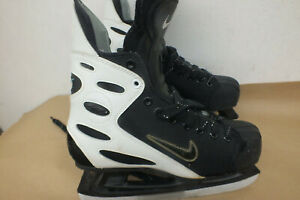 VINTAGE Nike MEN'S Hockey Ice Skates Size 10.5 US Nike Esteem Fast Shipping