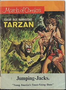 MARCH OF COMICS 366 TARZAN RARE GIVEAWAY PROMO VG/F 1972 MINI PROMOTION