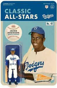 Jackie Robinson Los Angeles Dodgers Reaction Figure Super7