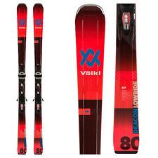 2020 Volkl Deacon 80 Skis + Lowride XL 13 Bindings 177cm New